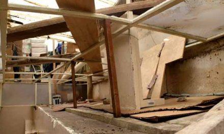 Luego de una fuerte granizada: El Banco de Sangre sufre daños en su infraestructura