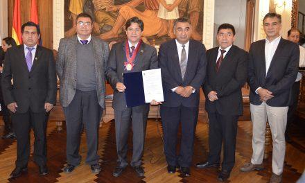 Universidad de San Francisco Xavier y la Universidad de Aguascalientes de México FIRMA DE CONVENIO PARA FORTALECER LA FORMACIÓN ACADÉMICA
