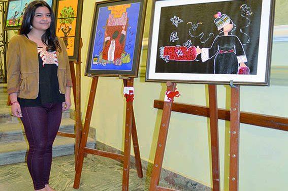 """Paola López: artista plástica  """"EL ARTE ES LA EXTENSIÓN  DE UNO MISMO"""""""