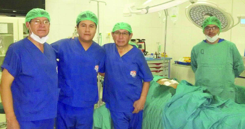 En el Hospital Universitario  EXITOSA CIRUGÍA DE PRÓSTATA VÍA LAPAROSCÓPICA