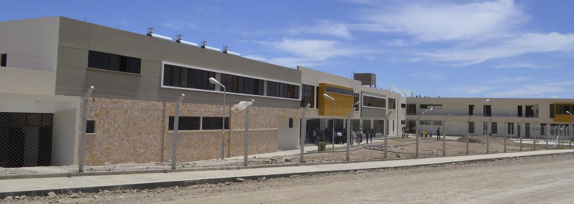 En la Barranca ENTREGAN  MODERNO EDIFICIO