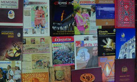 Oficina de Publicaciones:  14 AÑOS  CONSTRUYENDO LA MEMORIA DE  SAN FRANCISCO XAVIER